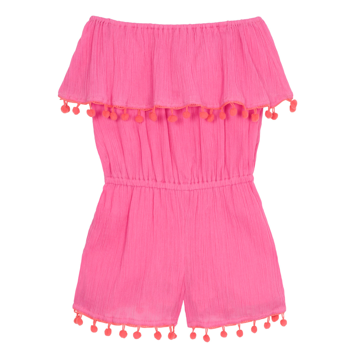 Hot Pink Playtime Playsuit