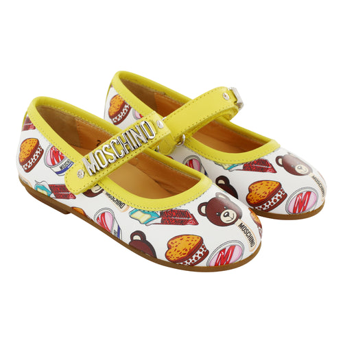 Moschino Leather Teddy Sweet Shoes