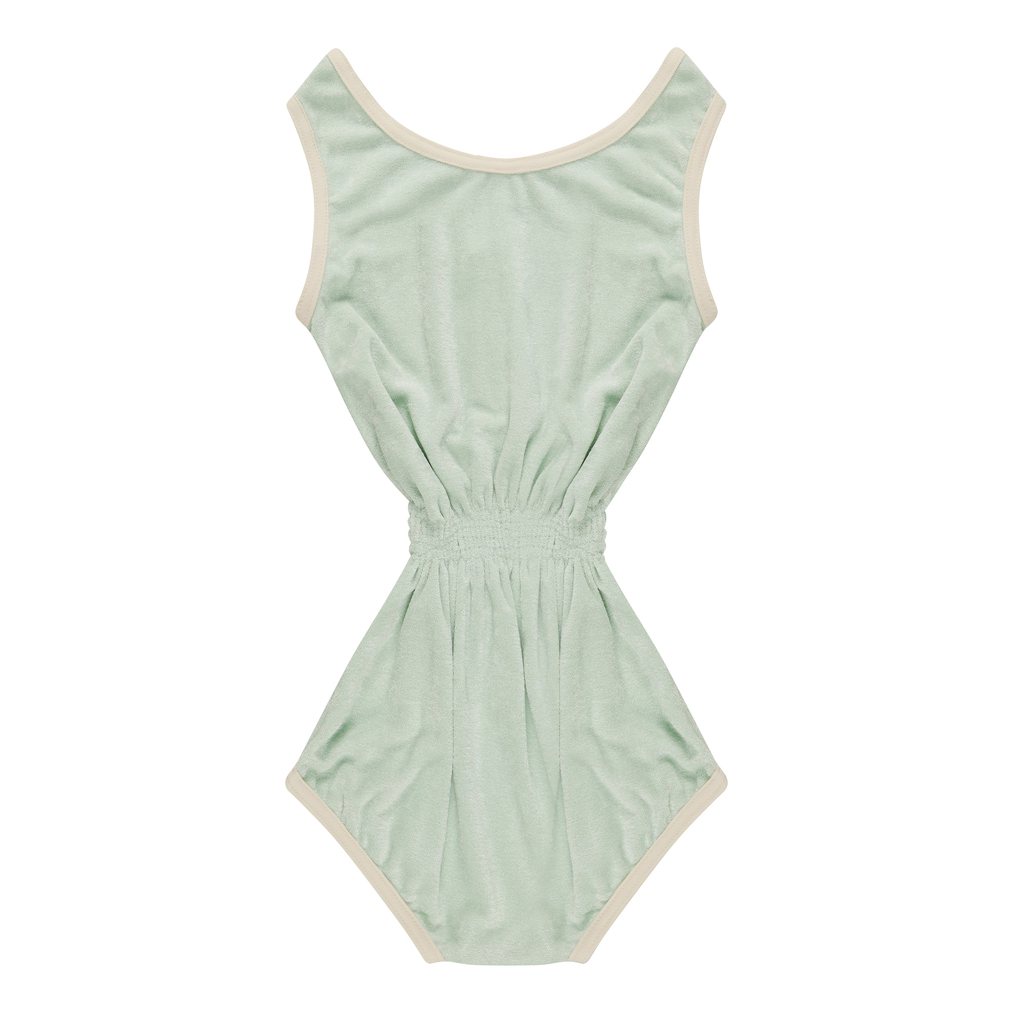 Aquamarine Towelling Playsuit