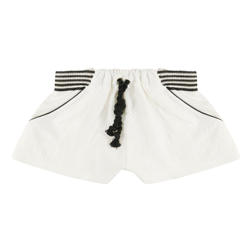 Cream Diamonds Short