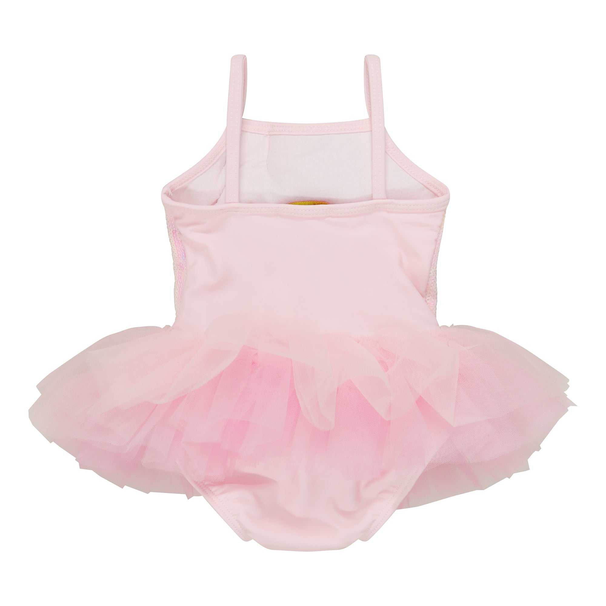 UV50+ Pink Sequin Tutu Swimsuit