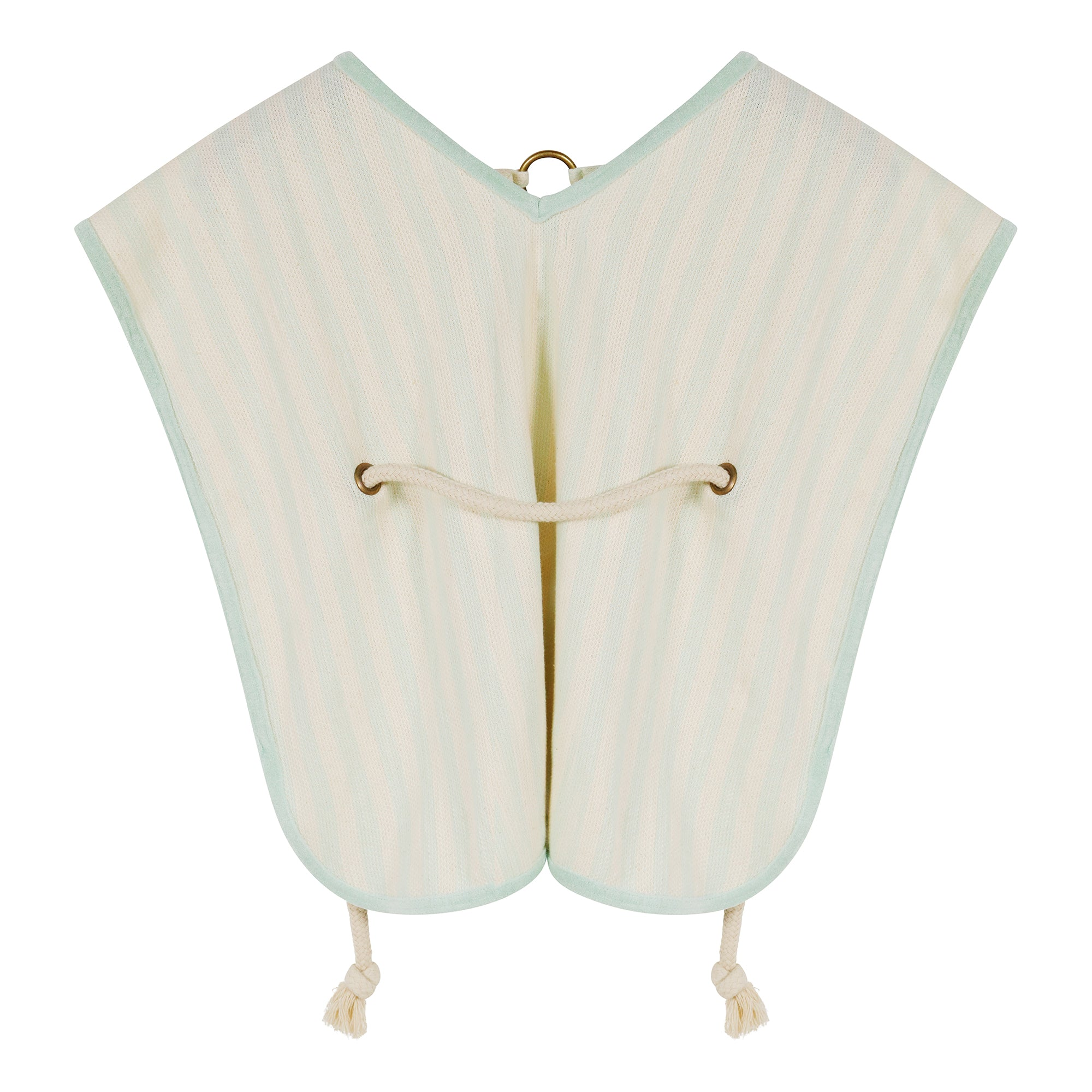 Aquamarine Stripes Poncho