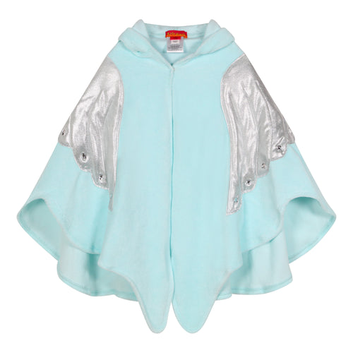 Aqua Angel Wings Embellished Towelling Robe