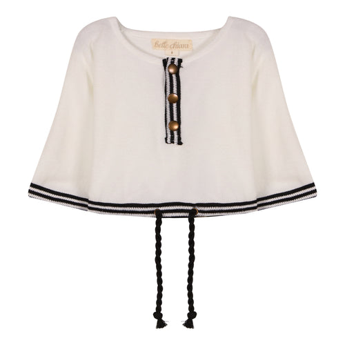 White Towelling Jersey Top
