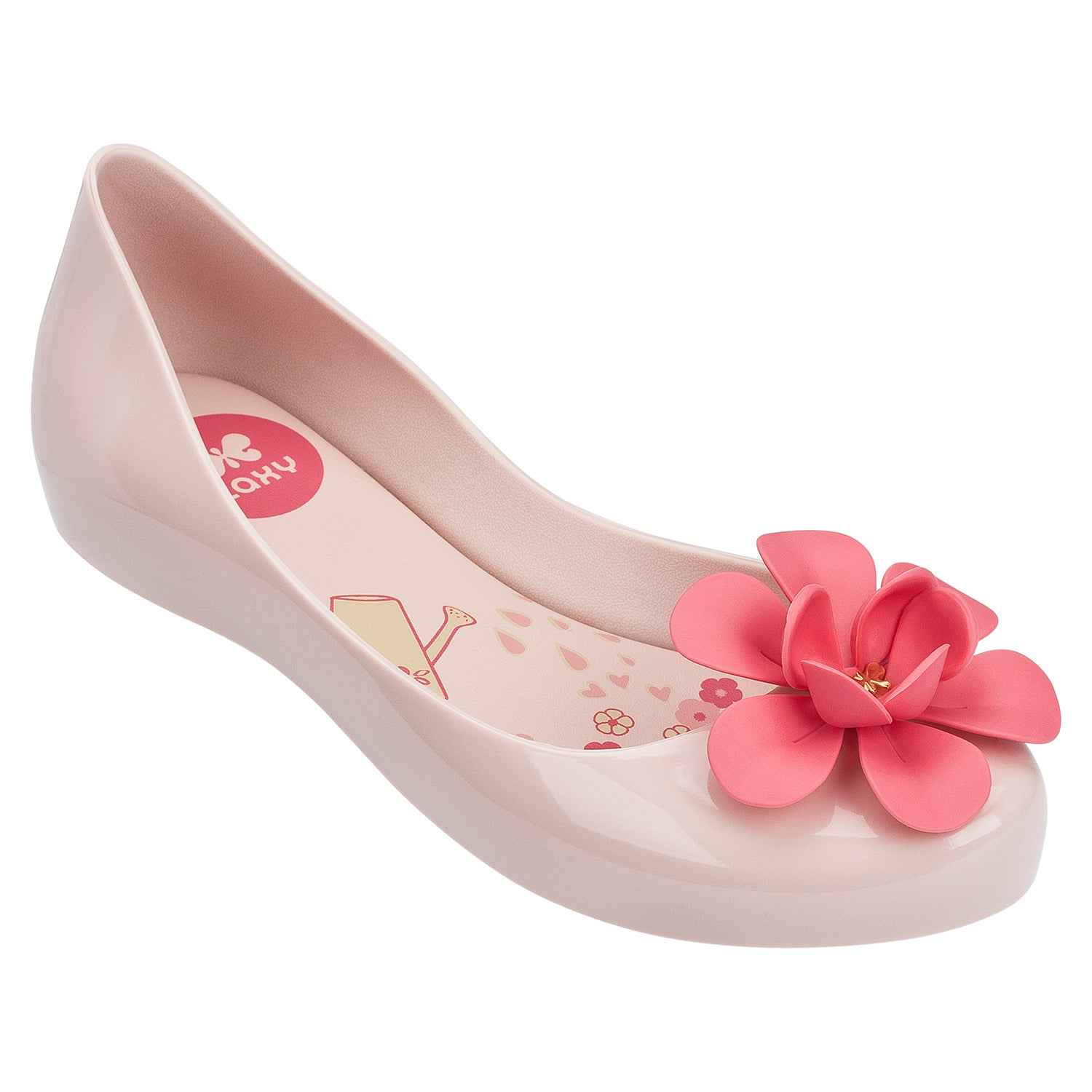 Kids Pop Bloom Candy Scented Jellie Sandal- Nude Contrast