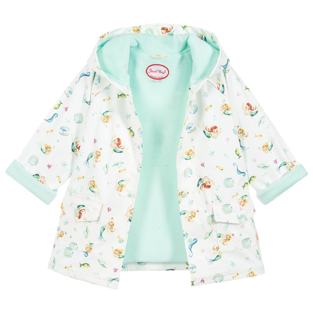 Under The Sea Mermaid Raincoat
