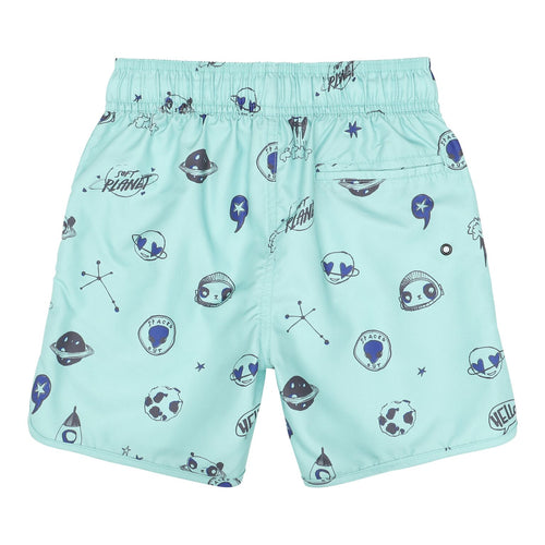 Space Print Swim Shorts
