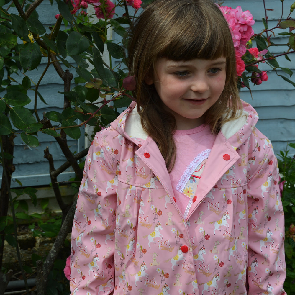 Pink Pony Raincoat