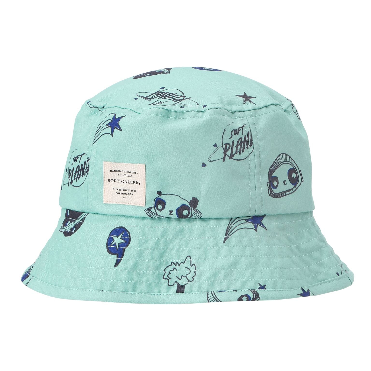 Space Print Bucket Hat