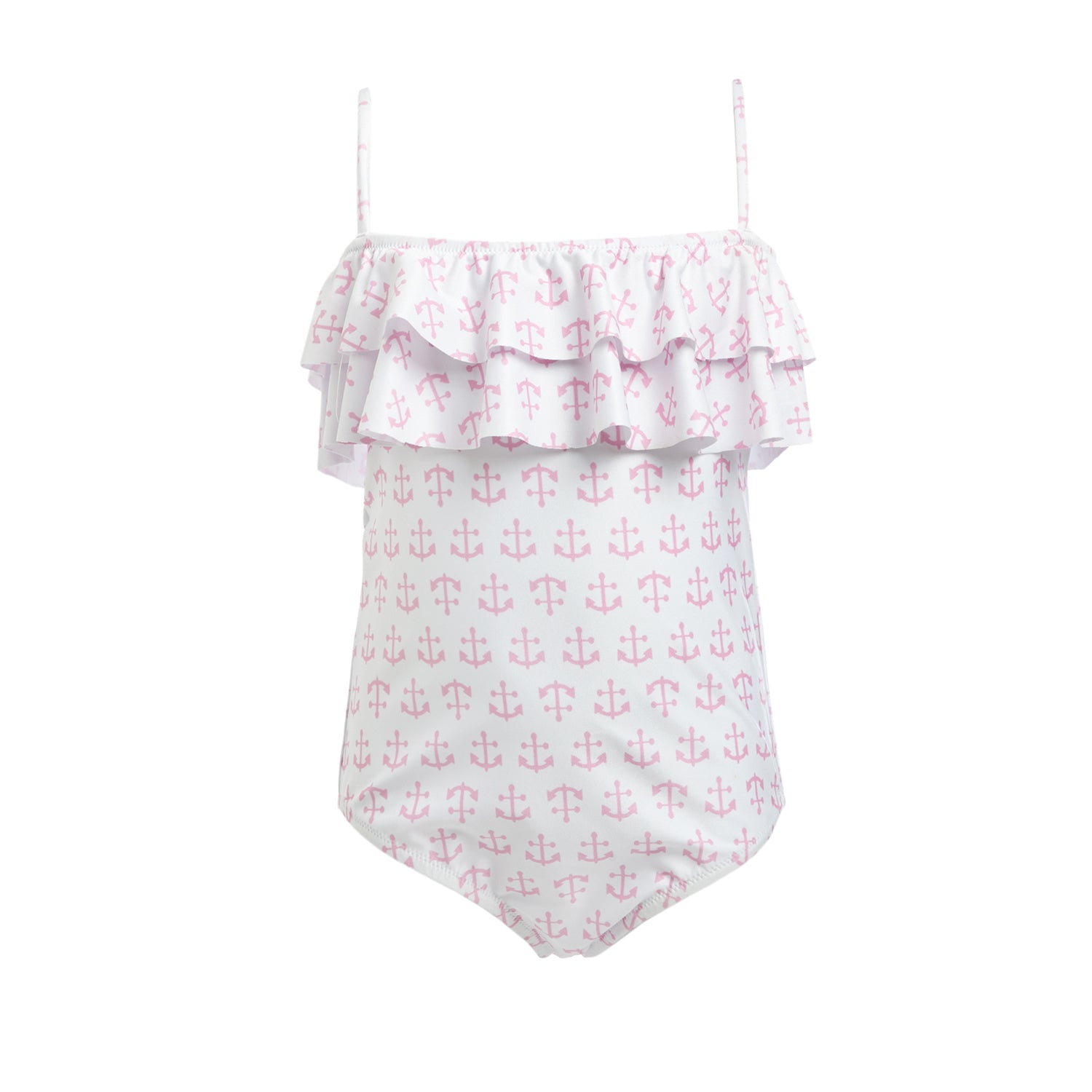 Baby Ivy Pink Anchors Swimsuit