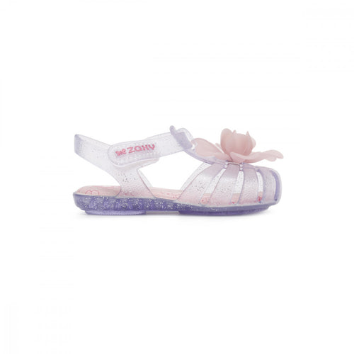 Baby Bloom Candy Scented Jellie Sandal - Clear Glitter
