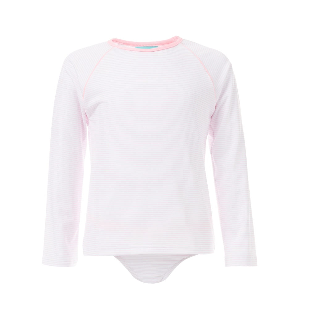Baby Dakota UV50+ Rash Vest Set- Pink Stripes