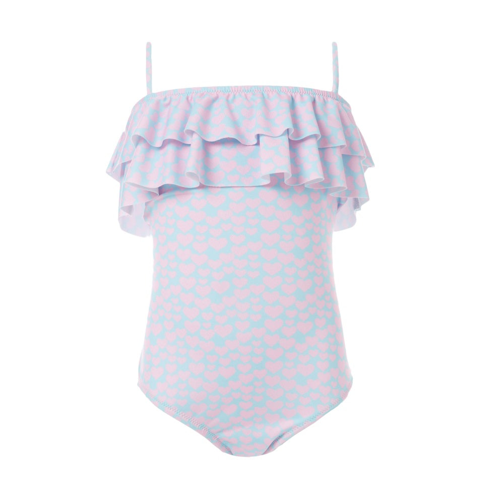 Baby Ivy Celeste Hearts Swimsuit