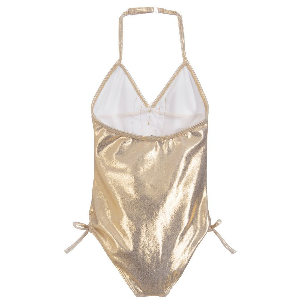 UV50+ Metallic Gold Swimsuit