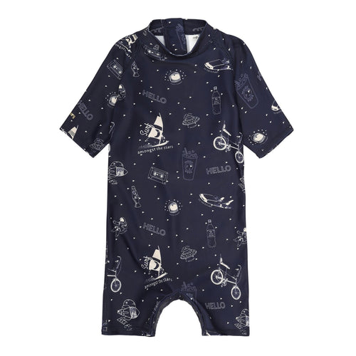 Starsurfer Print UV50+ Sunsuit