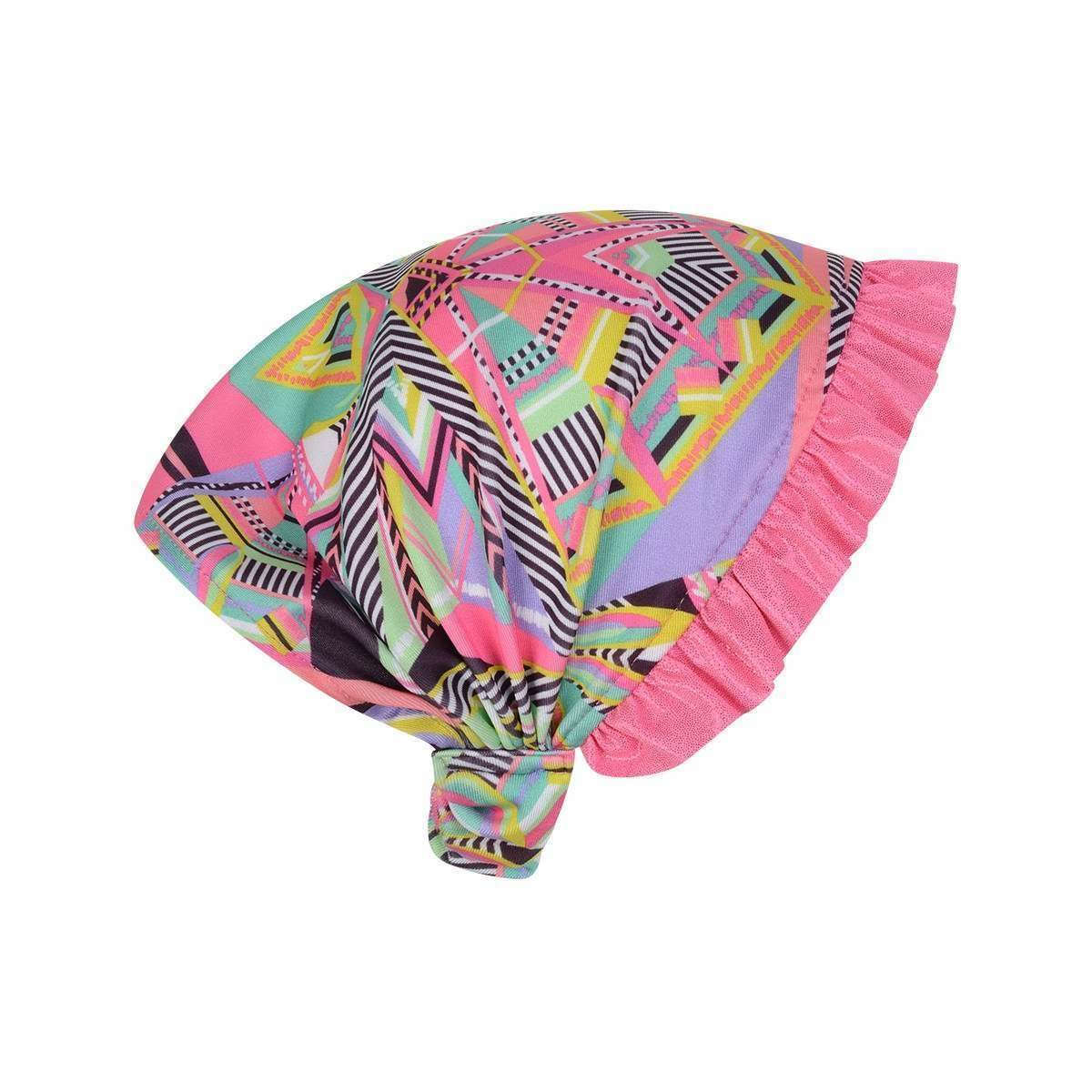 Multicoloured Aztec Inspired Head Scarf