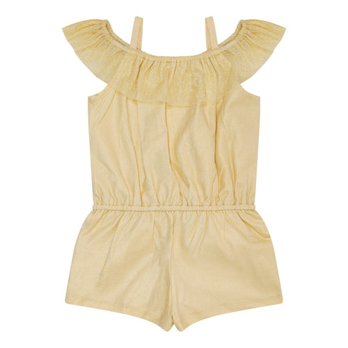 Gold Shimmer Playsuit