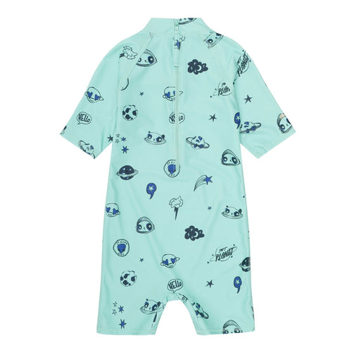 Space Printed UV50+ Sunsuit