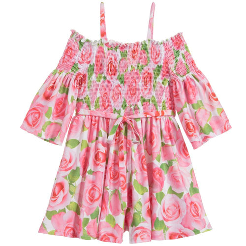 Pink Rose Playsuit