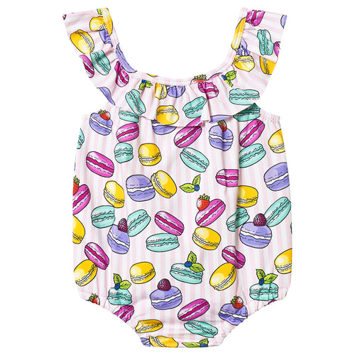 Baby Girls Macaroon Swimsuit