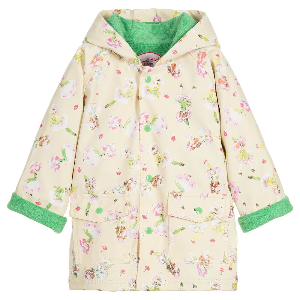 Ivory Garden Fairy Raincoat