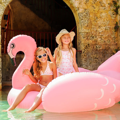 UV50+ Golden Flamingo Swimsuit