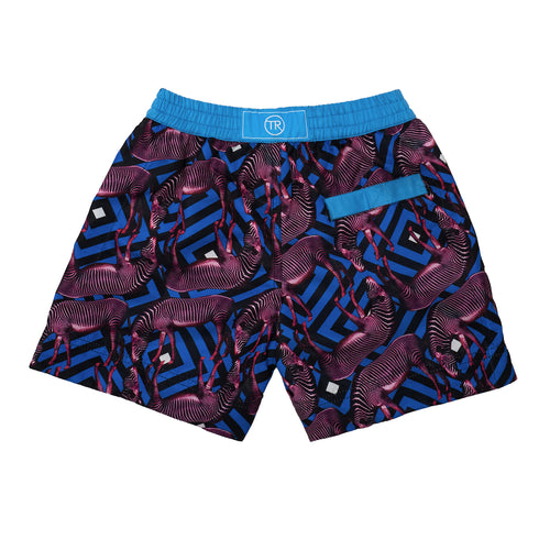 Zambia Zebra Swim Shorts