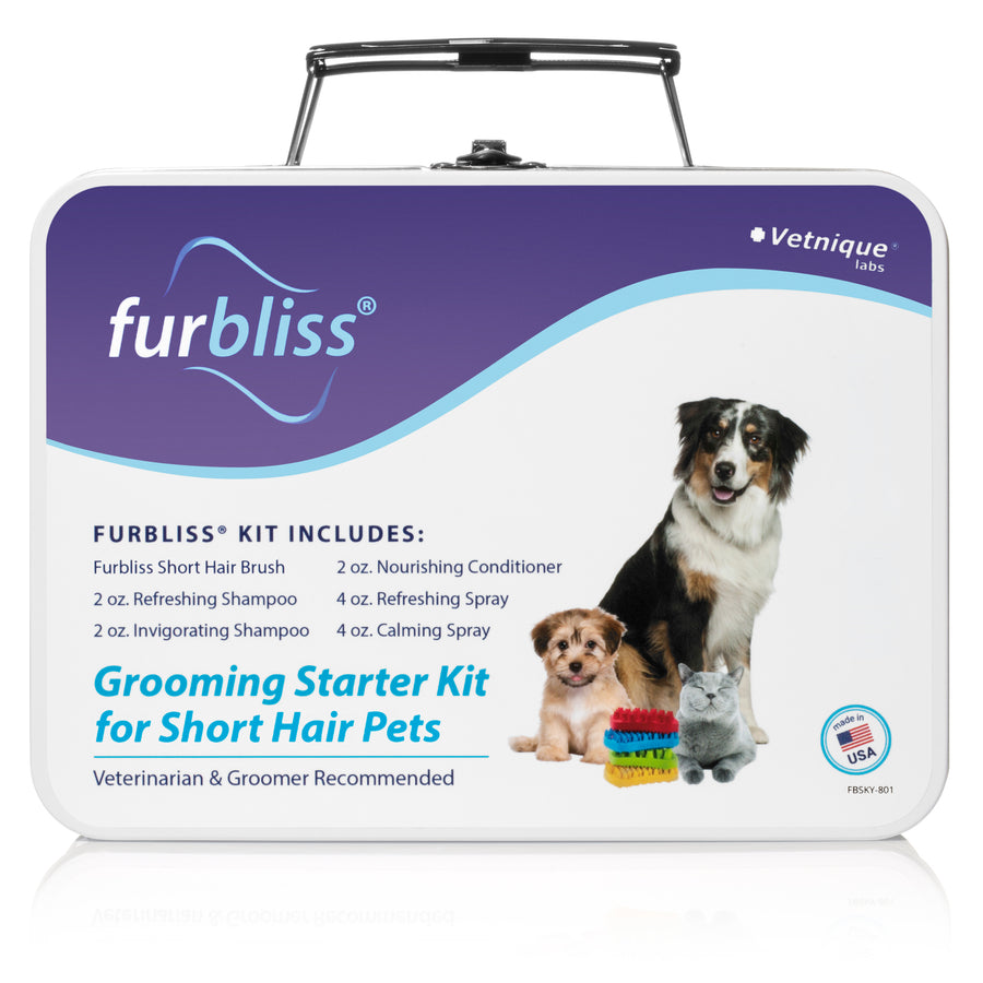 Furbliss Grooming Kit for Pets with Short Hair