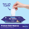 Furbliss Soft Gentle Deodorizing Pet Wipes for Dogs and Cats