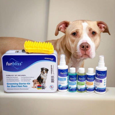 Furbliss Silicone Pet Brush and Grooming Products for Cats and Dogs