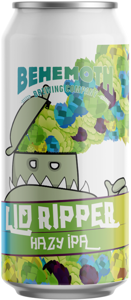 Case -  Lid Ripper Hazy IPA (12 cans)
