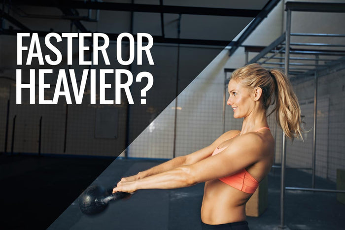 Weight training: Is faster or heavier better?