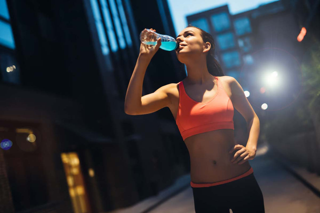 Drinking water will help keep you hydrated