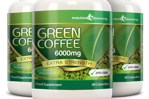 6,000mg Green Coffee Bean Capsules