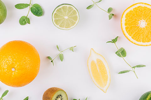Vitamin C from fruits and vegetables