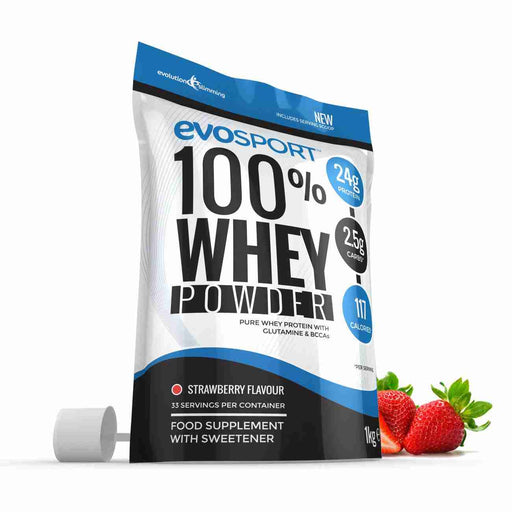 EvoSport 100% Whey Protein Strawberry