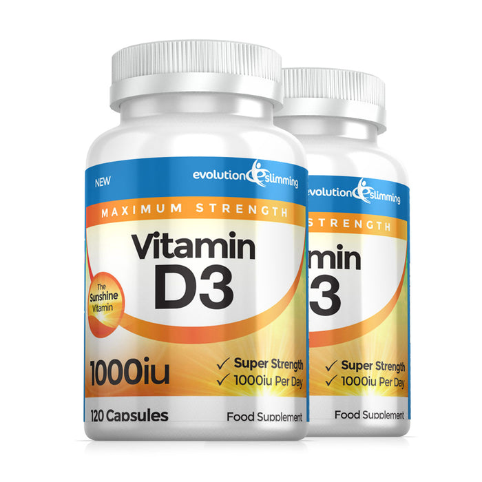 Vitamin D D3 1,000 IU Soft Gel Capsules