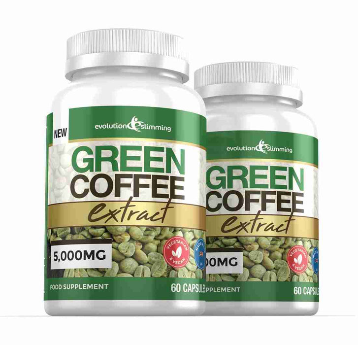 2 Bottles of Green Coffee Bean