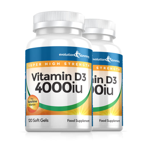Vitamin D D3 4,000iu Super Strength Soft Gels