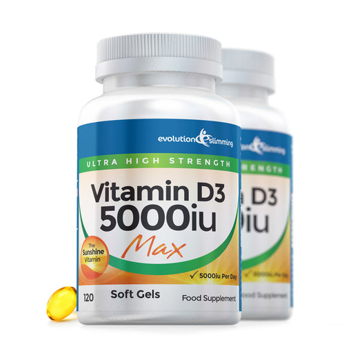 Vitamin D D3 5000iu Max Strength Soft Gel Capsules