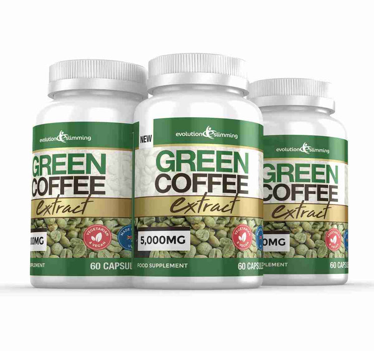 3 Bottles of Green Coffee Bean