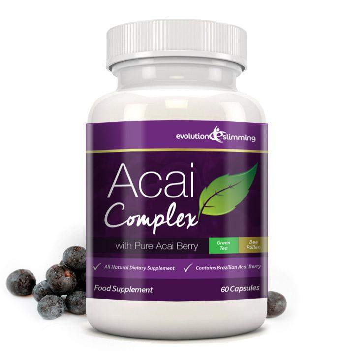 Acai Plus Complex Capsules Antioxidant With Green Tea