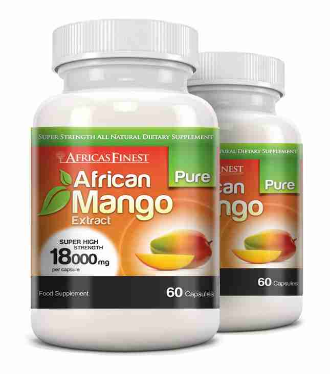 African Mango Capsules Diet Supplement For Cholesterol