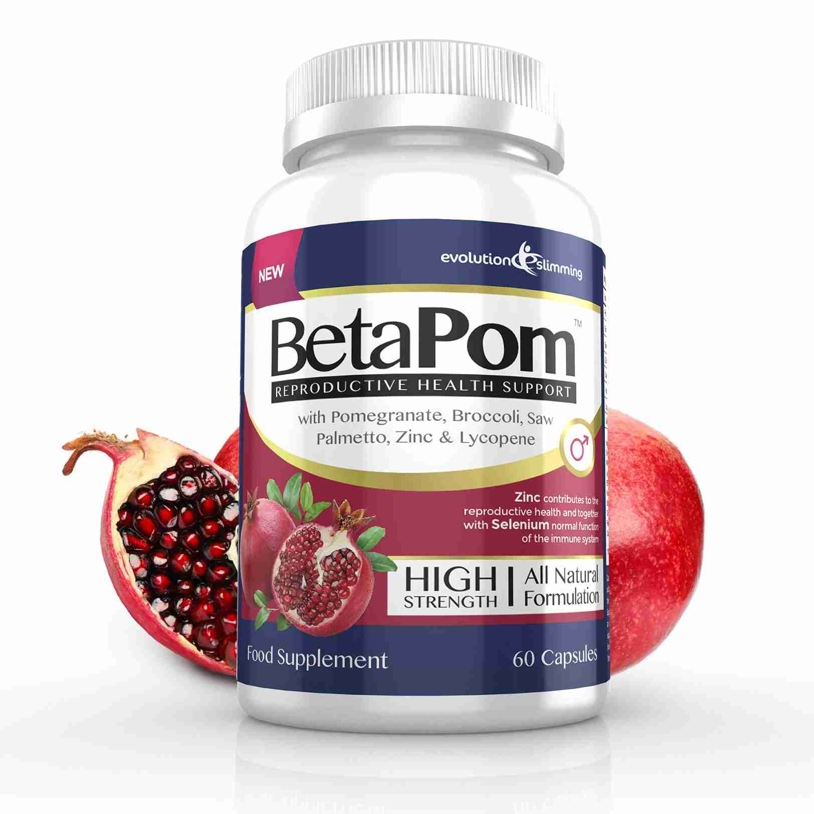 BetaPom Pomegranate Supplement for Men