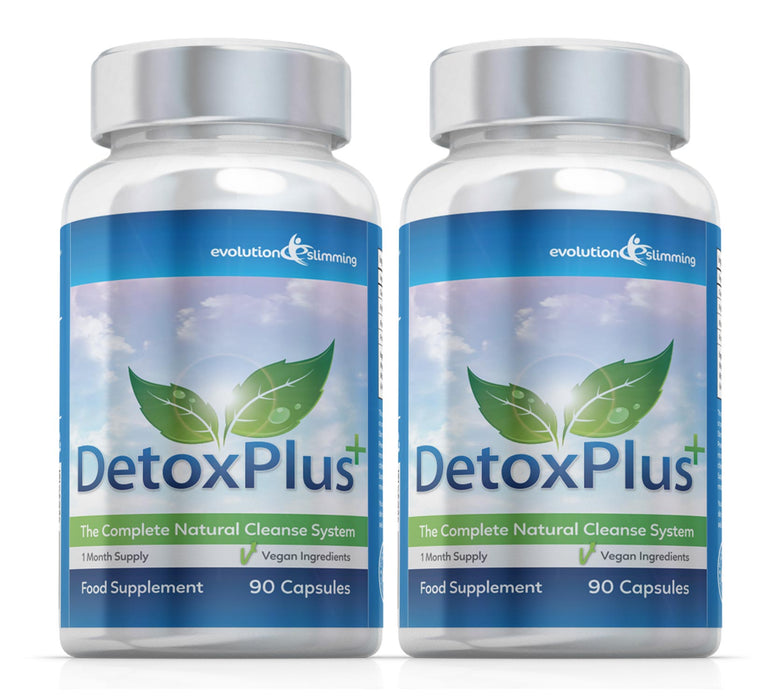 Detox Plus Colon Cleansing Supplement 2 Month Supply