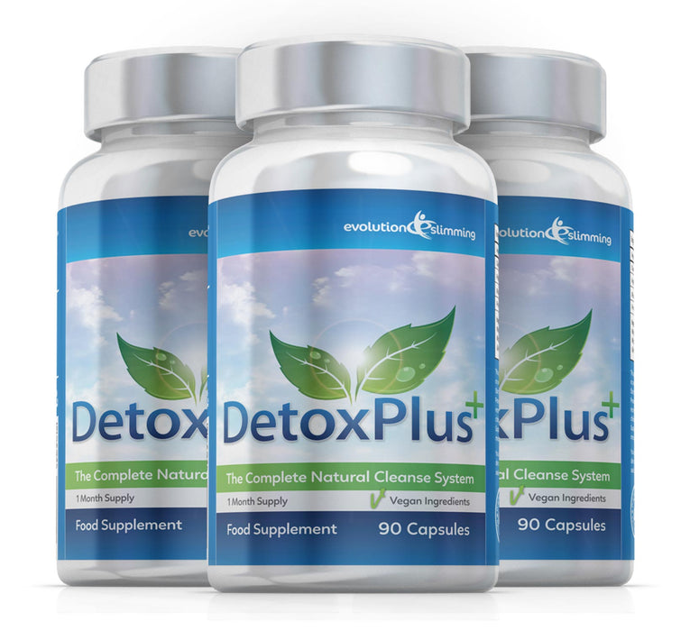 Detox Plus Colon Cleansing Supplement 3 Month Supply