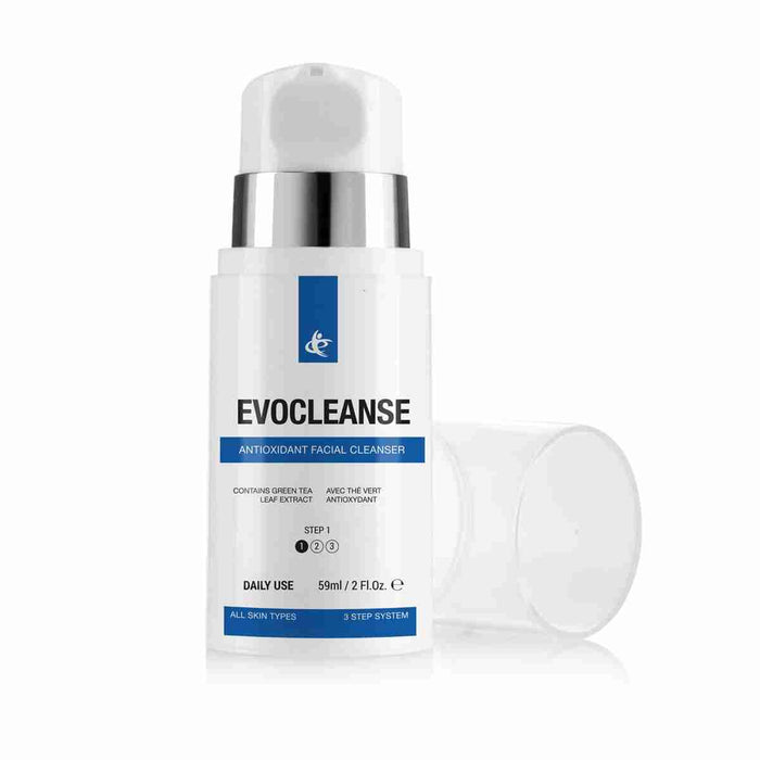 EvoCleanse Antioxidant Facial Cleanser with Green Tea Leaf Extract (59ml)