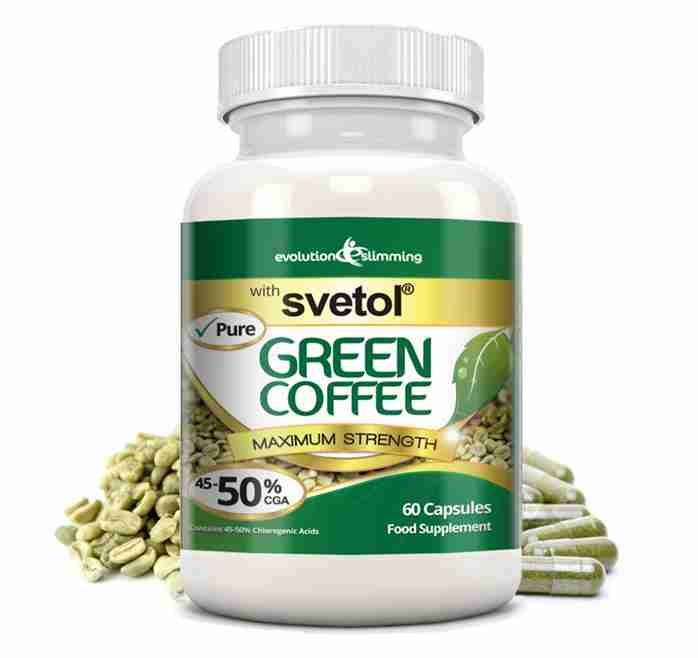 Green Coffee Svetol 50 Cga For Fat Burning Weight Loss Evolution Slimming