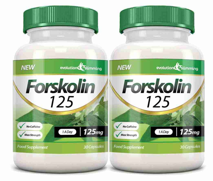 Forskolin 125mg 2 Bottles