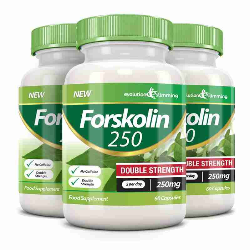 Forskolin 250 Double Strength 250mg 60 Weight Loss Capsules